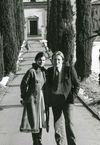 <p>Lynn Fleming Aeschliman '63 and Michael Aeschliman at the Sant' Abbondio Church, Gentilino.</p>