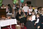 <p>Mrs. Fleming's 95th Birthday.</p>