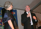 <p>Lynn Fleming Aeschliman and Lyle Rigg at the Gala</p>