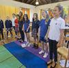 <p>Middle School choir practice</p>