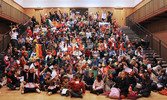 <p>Elementary School International Week event in the Palmer Cultural Center</p>