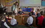 <p>Elementary School Music Class</p>