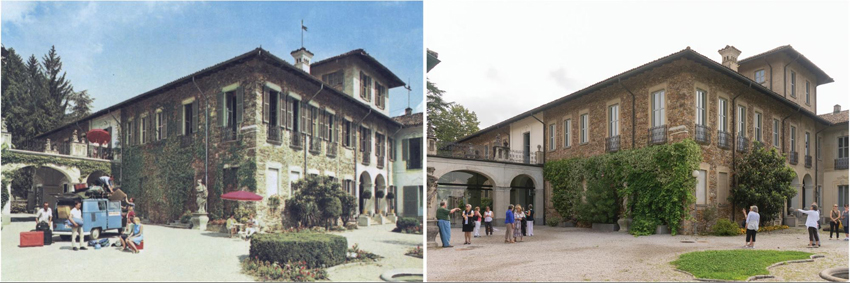 Villa Negroni Then and Now