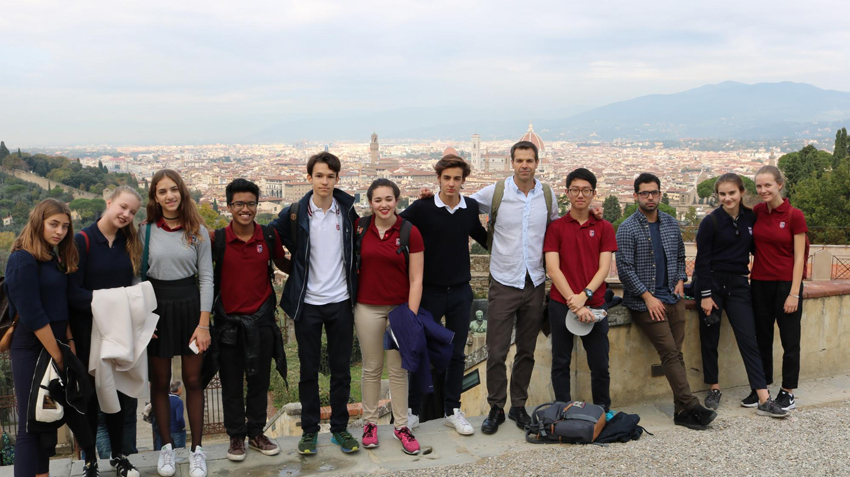 TASIS Group at San Miniato al Monte