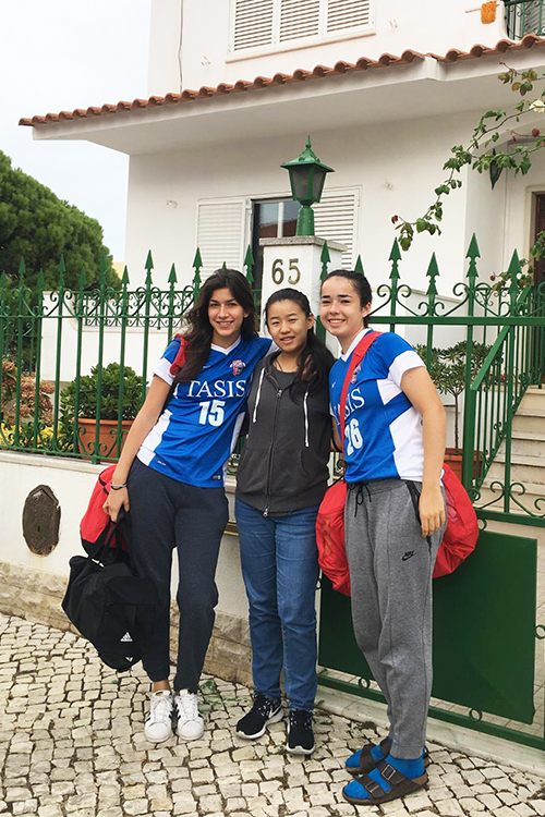 Girls soccer trip to Portugal