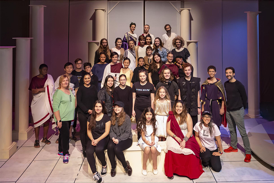 antigone/CAESAR Cast and Crew