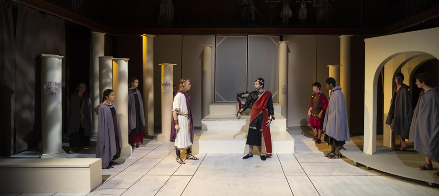 Scene from antigone CAESAR