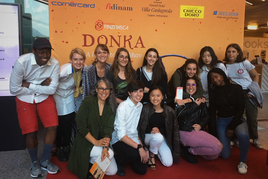 TASIS students attend Donka at LAC