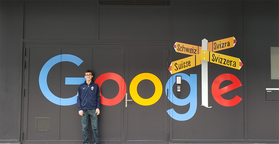 Google Wall Switzerland