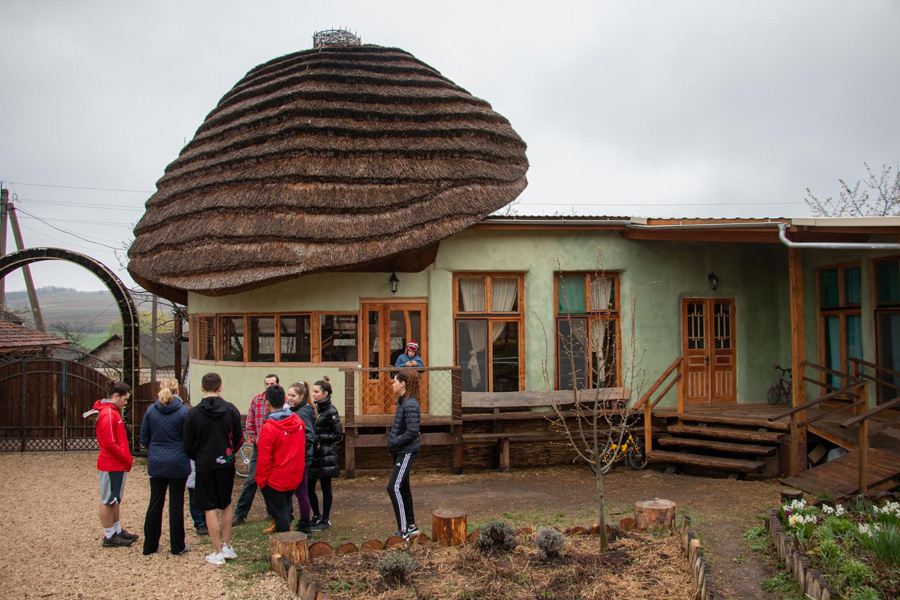 "Eco-Village: ""The Mushroom"""