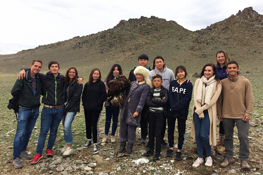 TASIS Students in Mongolia
