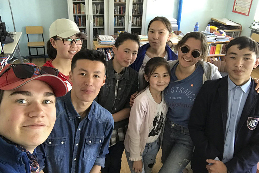 TASIS Service group in Mongolia