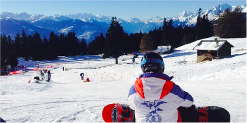 Started From the Bottom: My first snowboarding lessons at Crans-Montana