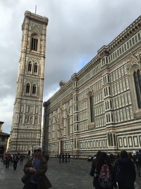 The Renaissance City: Giotto's Bell Tower by the famous Duomo in Florence