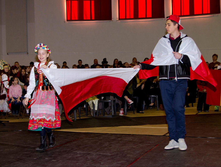 Poland at the Parade of Flags