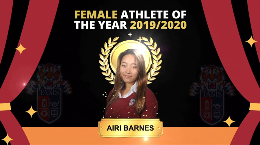 Airi Barnes, Athlete of the Year