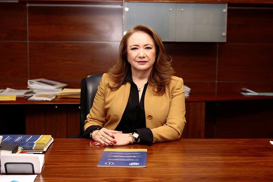Mexican Supreme Court Justice Yasmín Esquivel Mossa
