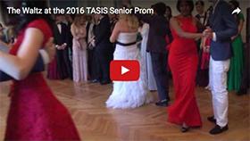 The Waltz at the 2016 TASIS Senior Prom