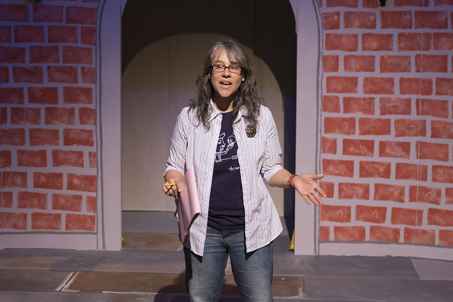 High School Theater Director Valerie Carlson