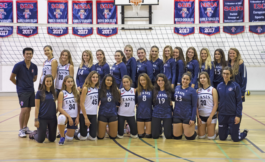 TASIS Girls Volleyball Team
